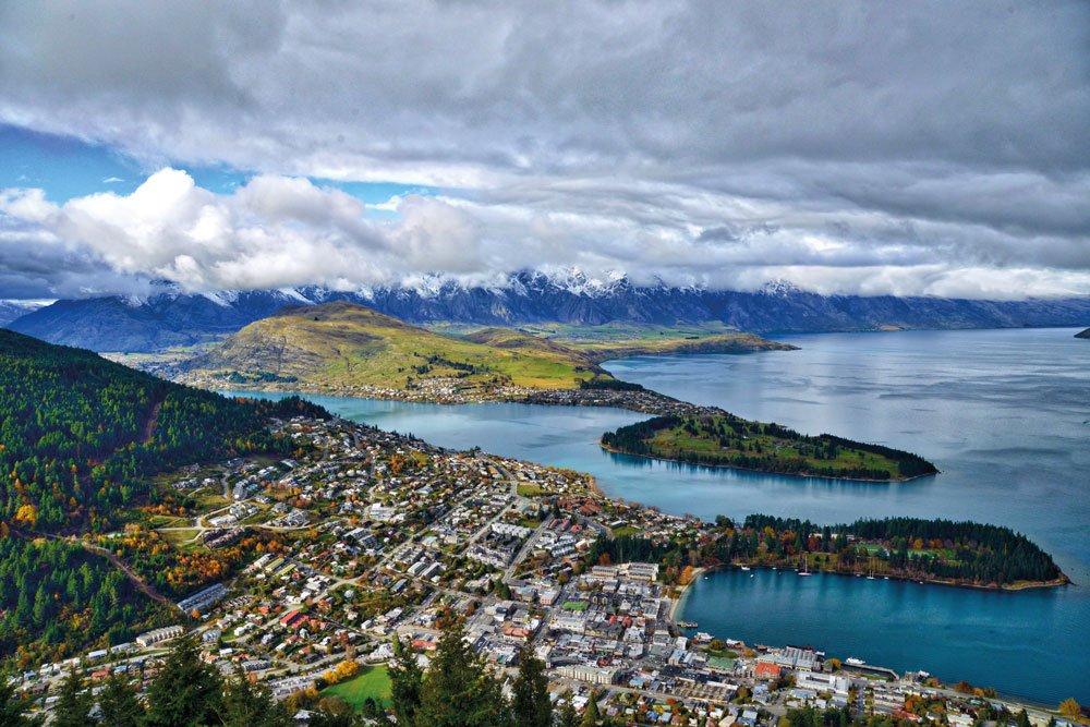 Golf-Gruppenreisen: Neuseeland (Queensland Panorama)