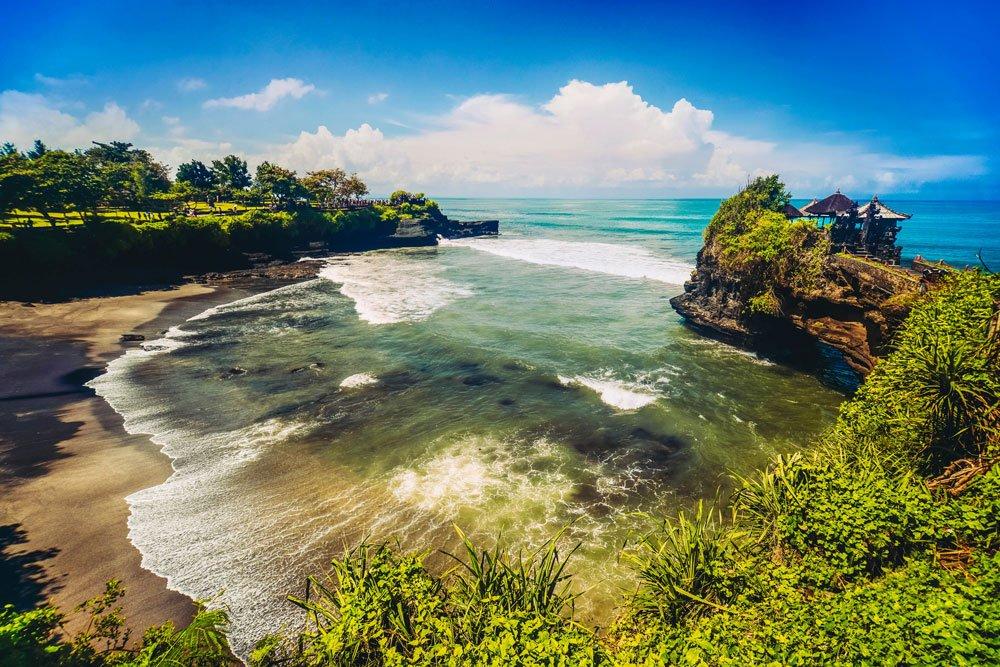 Silvester-Golfreisen: Bali (Tanah Lot Temple)
