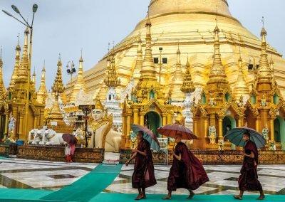 Golf-Gruppenreise-Myanmar-Shwedagon-Pagode-Yangon