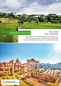 Golf-Gruppenreise-Rom-2020-april-Prospekt-Cover