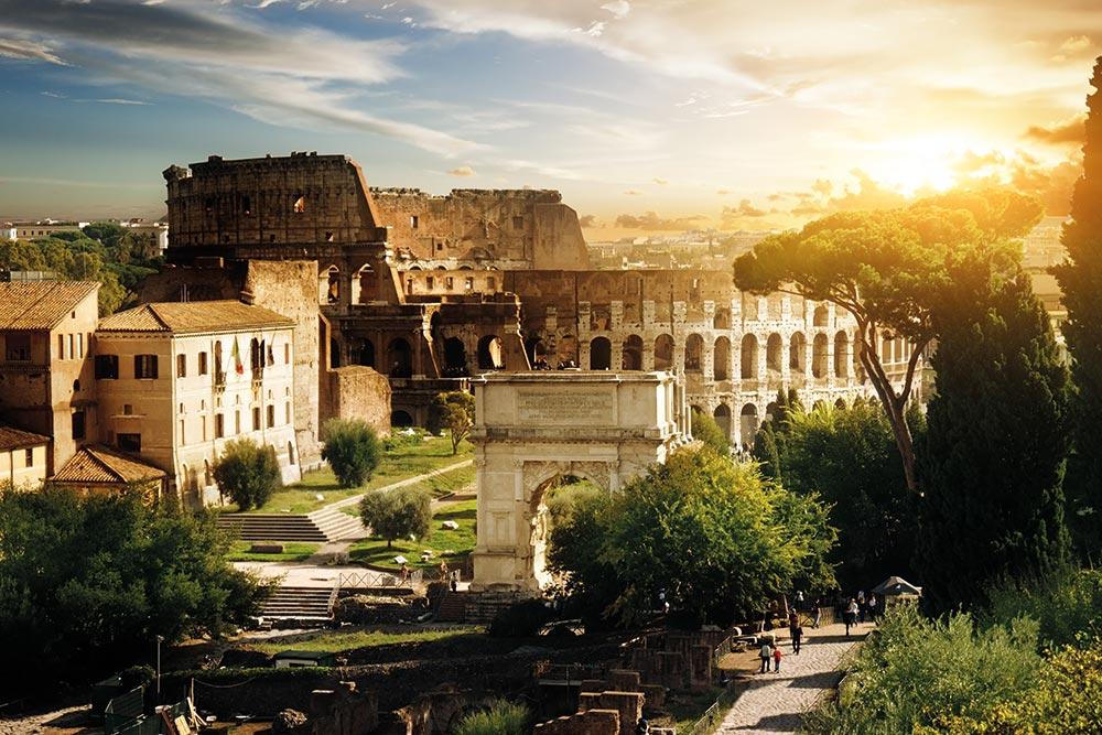 Golf-Gruppenreise-Rom-Kolosseum