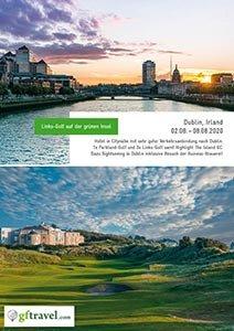 Golf-Gruppenreisen-Dublin-2020-August-Prospekt-Cover
