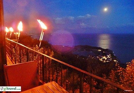 Golf-Gruppenreise-Bulgarien-Thracian-Cliffs-Balcon-del-Mundo-Dinner-View