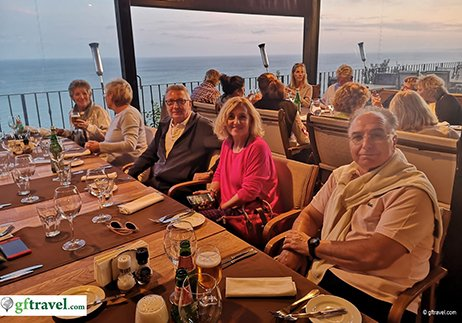 Golf-Gruppenreise-Bulgarien-Thracian-Cliffs-Balcon-del-Mundo-Dinner