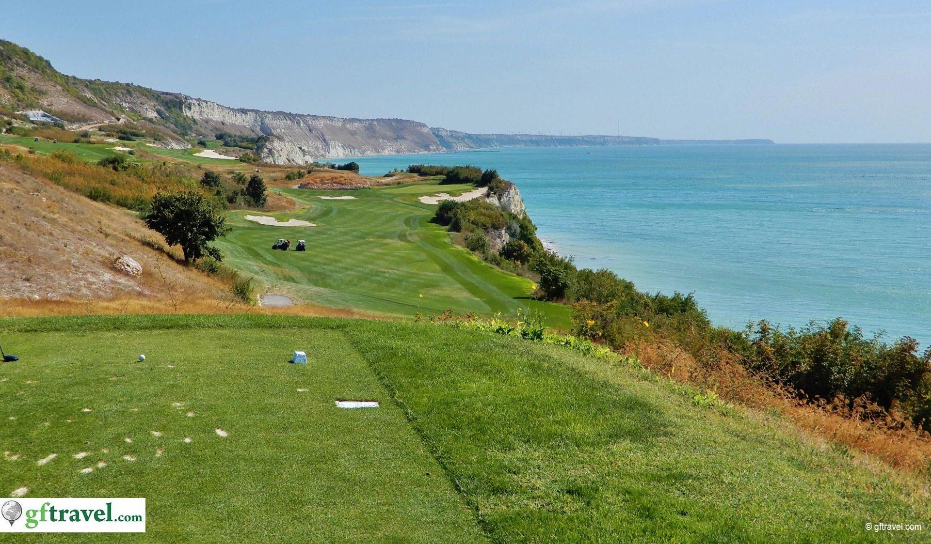 Golf-Gruppenreise-Bulgarien-Thracian-Cliffs-Reisebericht-GC-Thracian-Cliffs-Course-8