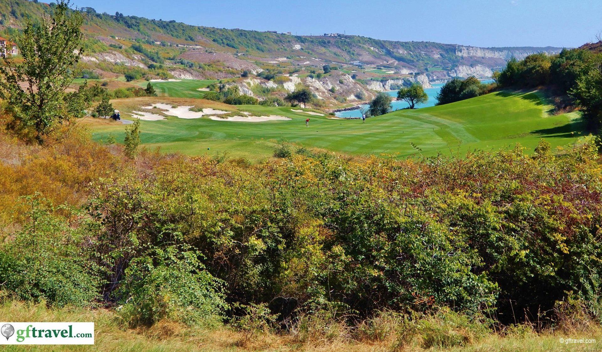 Golf-Gruppenreise-Bulgarien-Thracian-Cliffs-Reisebericht-GC-Thracian-Cliffs-Course-9