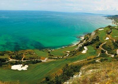 Golf-Gruppenreise-Bulgarien-Thracian-Cliffs-Reisebericht-GC-Thracian-Cliffs-Course-Panorama