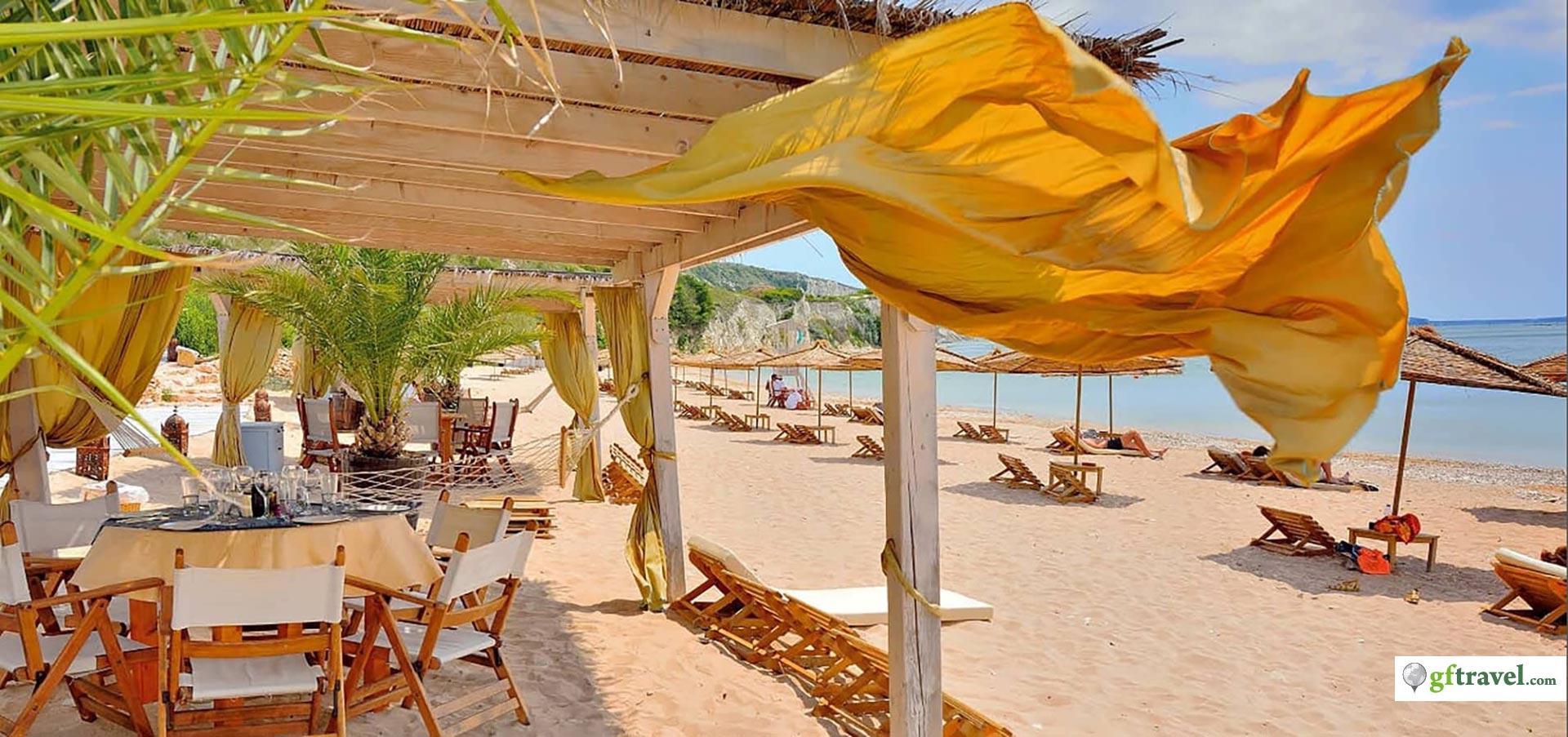 Golf-Gruppenreise-Bulgarien-Thracian-Cliffs-Reisebericht-Thracian-Cliffs-Argata-Beach-Restaurant-2