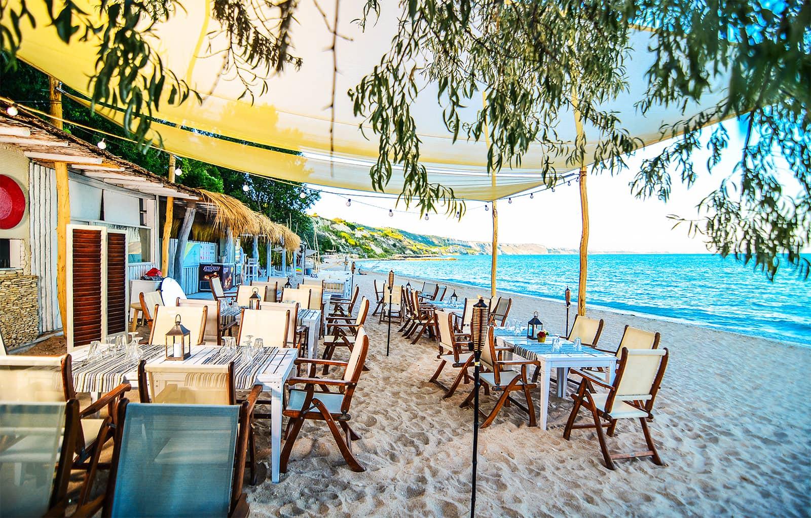 Golf-Gruppenreise-Bulgarien-Thracian-Cliffs-Reisebericht-Thracian-Cliffs-Argata-Beach-Restaurant