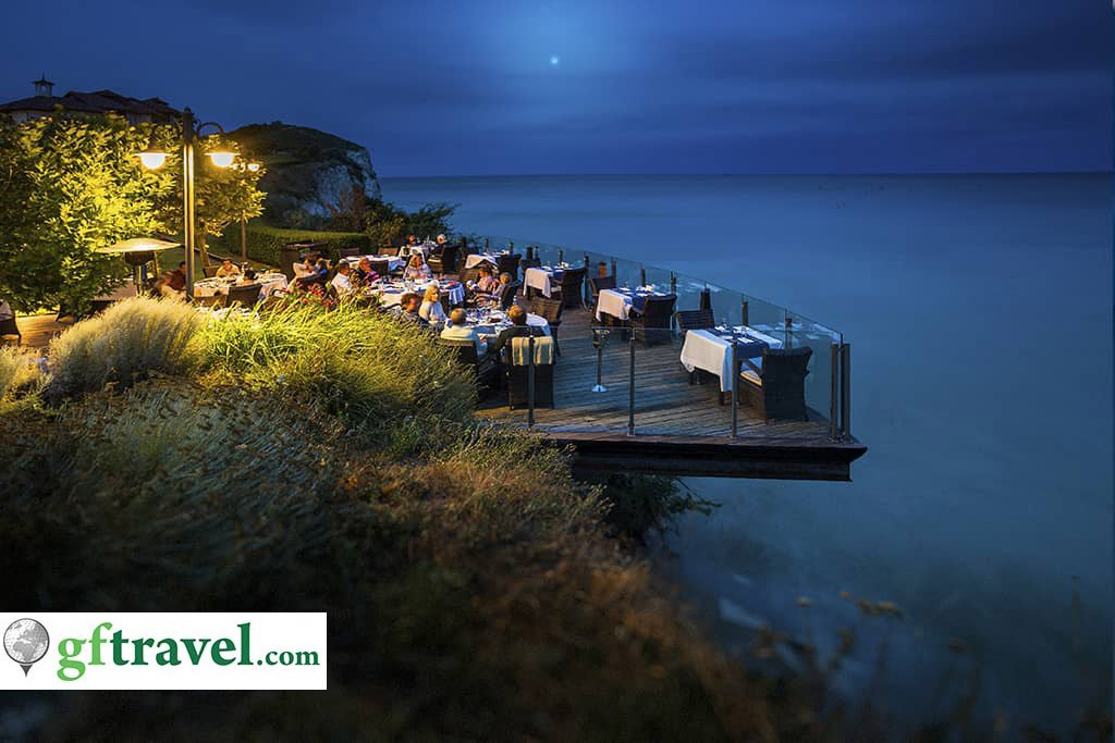 Golf-Gruppenreise-Bulgarien-Thracian-Cliffs-Reisebericht-Thracian-Cliffs-Geti-Restaurant-Farewell-3