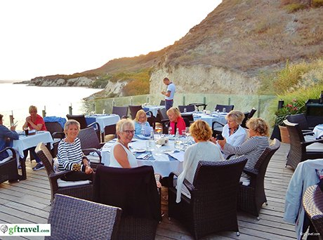 Golf-Gruppenreise-Bulgarien-Thracian-Cliffs-Reisebericht-Thracian-Cliffs-Geti-Restaurant-Farewell-a