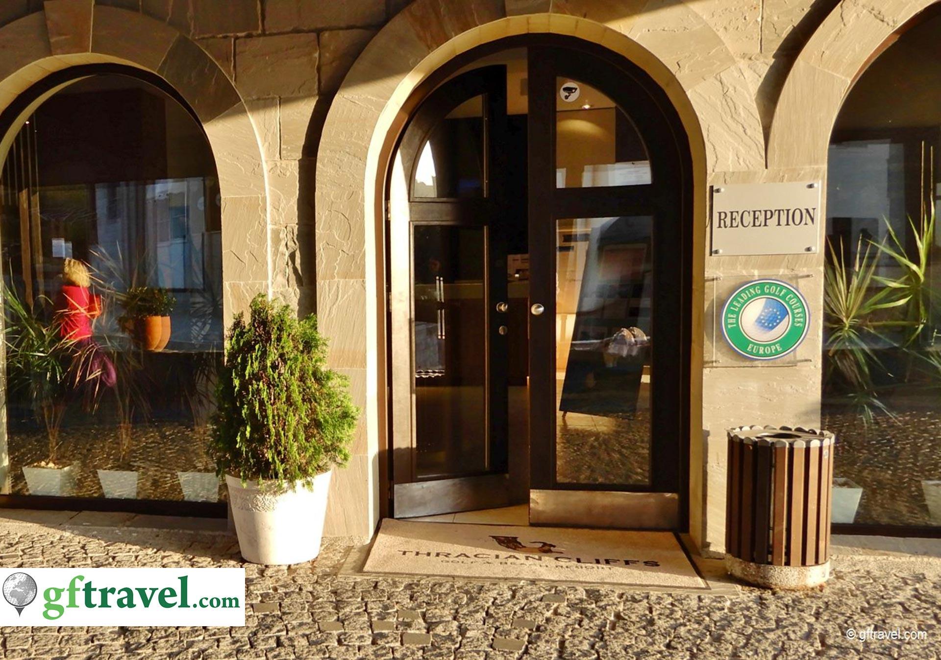 Golf-Gruppenreise-Bulgarien-Thracian-Cliffs-Reisebericht-Thracian-Cliffs-Rezeption