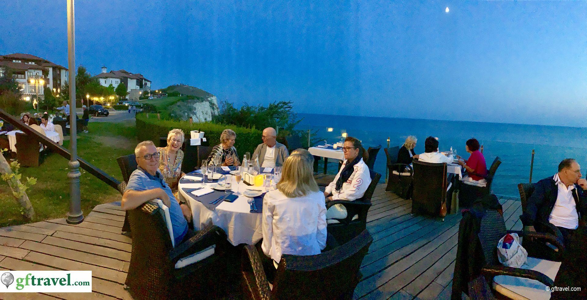 Golf-Gruppenreise-Bulgarien-Thracian-Cliffs-Restaurant-Geti-Welcome-Dinner