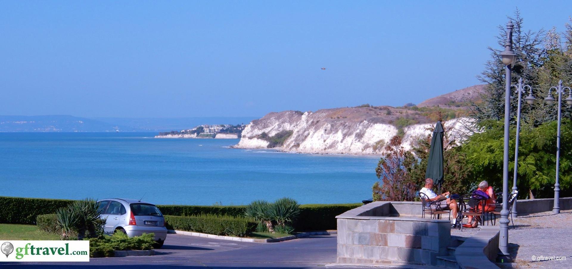 Golf-Gruppenreise-Thracian-Cliffs-Reisebericht-Ausblick-von-Rezeption