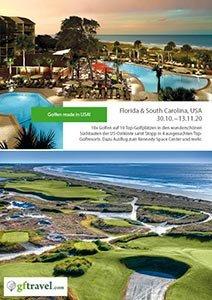 Golf-Gruppenreisen-Florida-South-Carolina-2020-Oktober-Prospekt-Cover