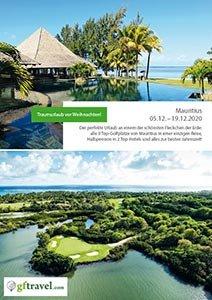Golf-Gurppenreisen-Mauritius-2020-Dezember-Prospekt-Cover