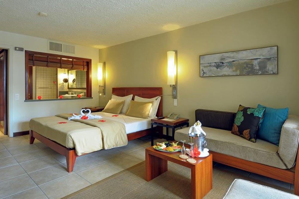 Golf-Gurppenreisen-Mauritius-Constance-Belle-Mare-Plage-Zimmer