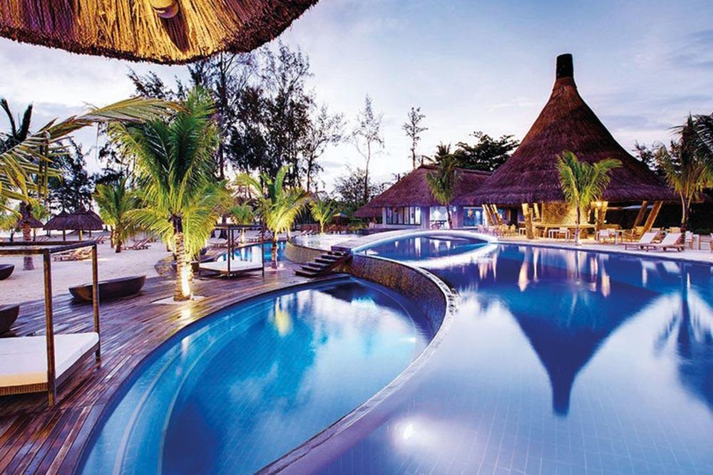 Golf-Gurppenreisen-Mauritius-Heritage-Le-Telfair-Pool