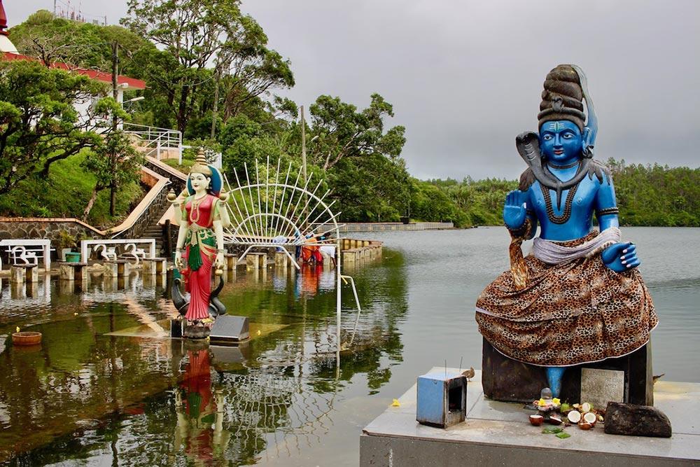 Golf-Gurppenreisen-Mauritius-Hindu-Stätte