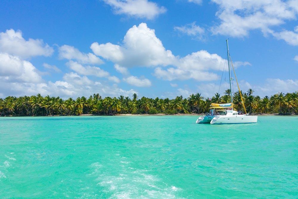 Golf-Gurppenreisen-Mauritius-Katamaran