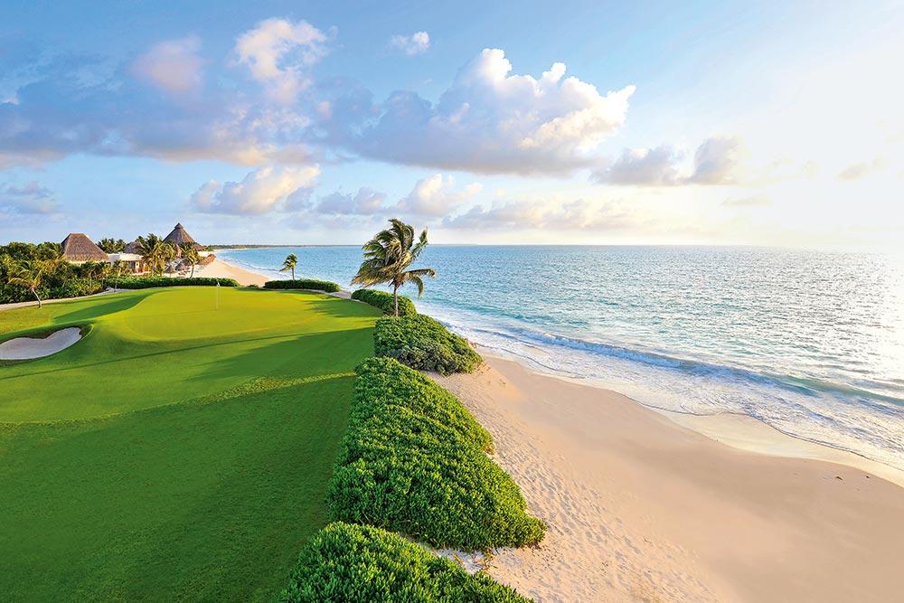 Golf-Gruppenreise-Mexiko-Mayacoba-El-Camaleon