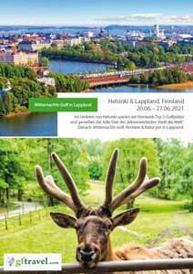 Golf-Gruppenreisen-Finnland-Helsinki-Lappland-2020-Juni-Prospekt-Cover