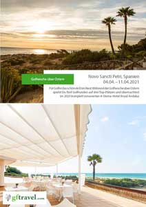 Golf-Gruppenreisen-Spanien-Novo-Sancti-Petri-2021-April-Prospekt-Cover