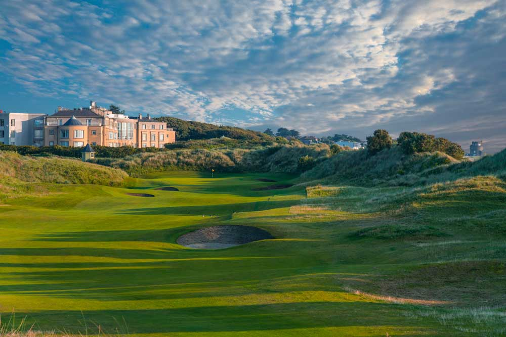 Golf-Kreuzfahrten-Schottland-Irland-Portmarnock-Hotel