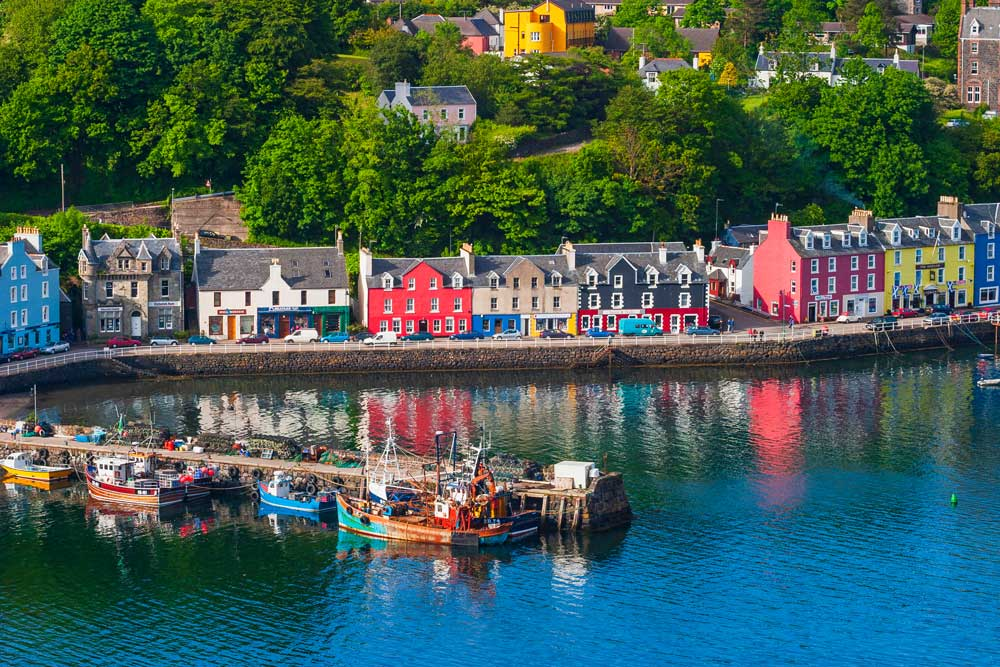 Golf-Kreuzfahrten-Schottland-Irland-Tobermory-Isle-of-Mull