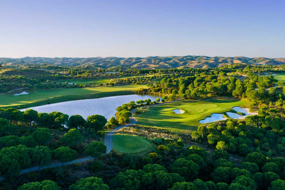 Golf-Gruppenreisen-Algrave-Monte-Rei-Golfplatz-Überblick