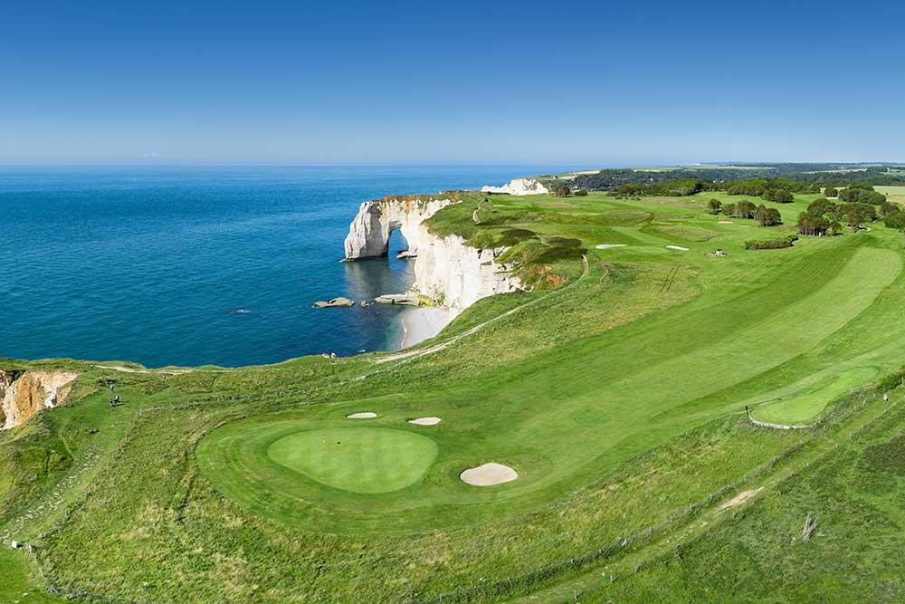 Golf-Gruppenreise-Frankreich-Normandie-Golf-de-Etretat